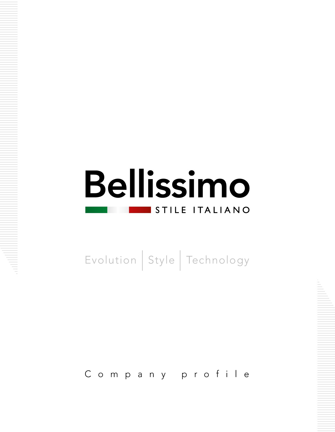 Bellissimo STILE ITALIANO  Products Catalogue