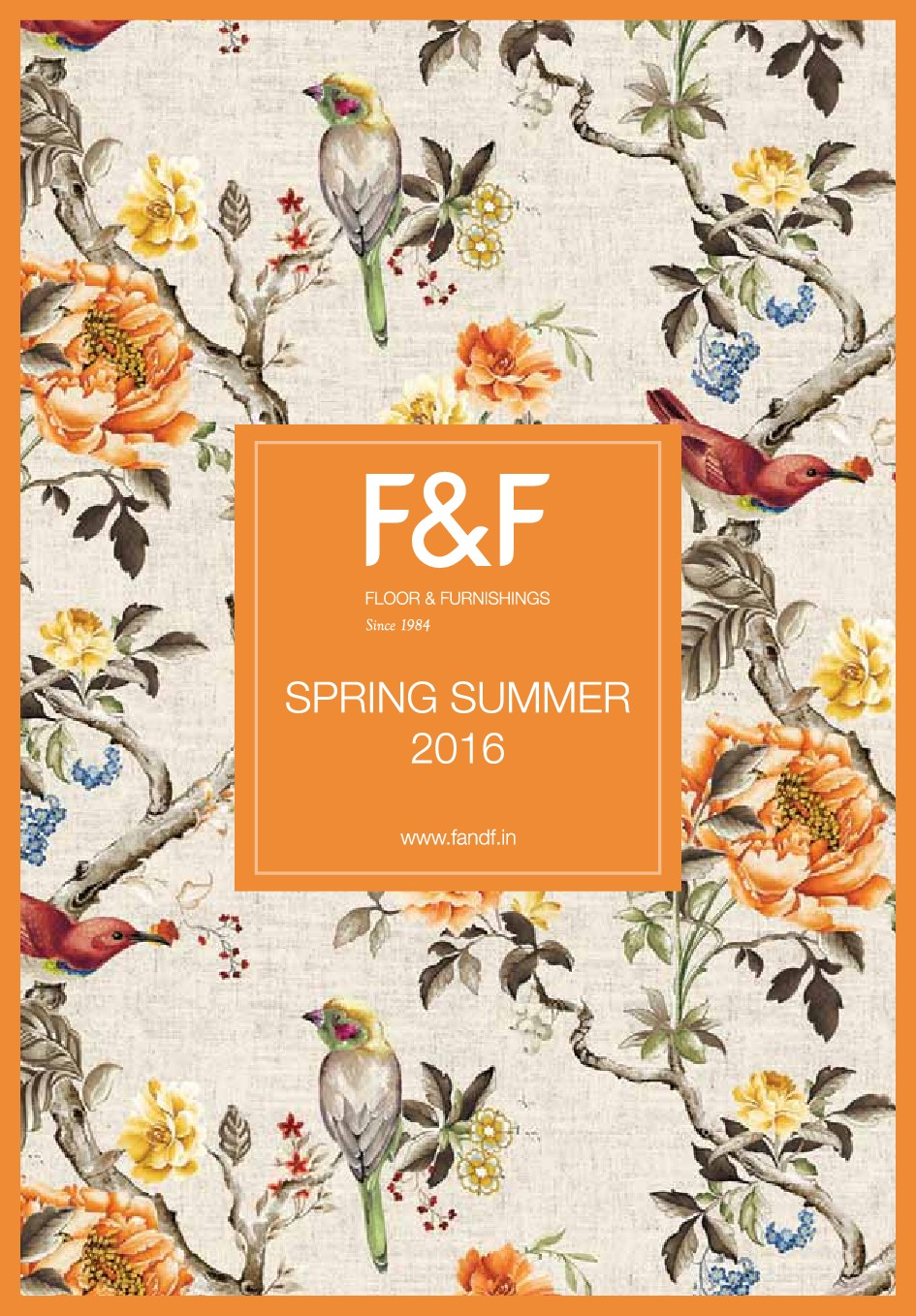 F&F Products Catalogue
