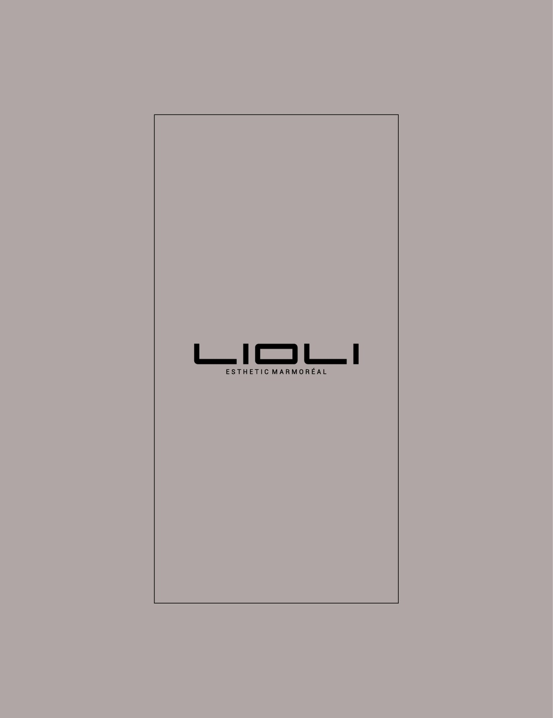 LIOLI Products Catalogue
