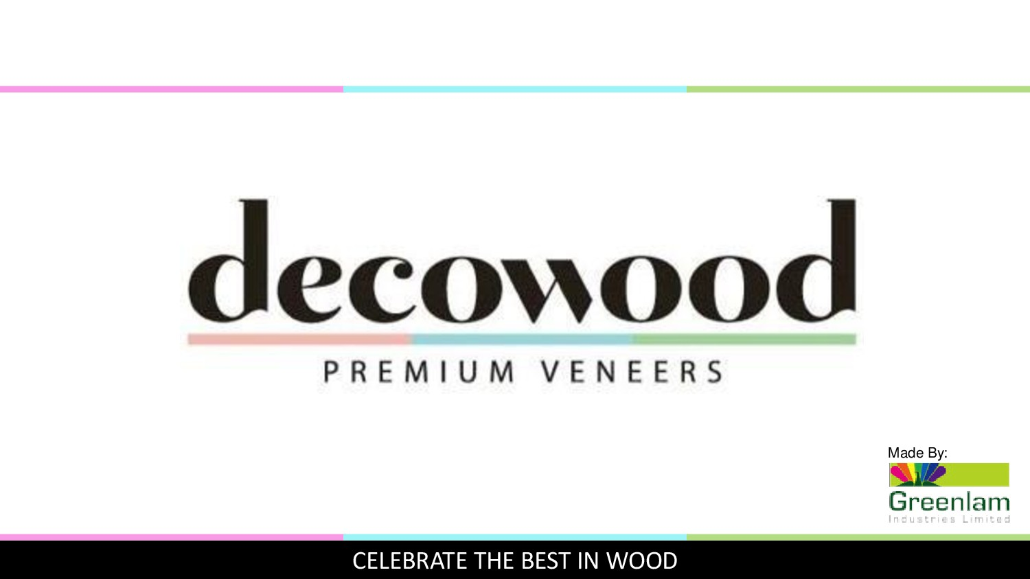 Greenlam Decowood Veneers Products Catalogue