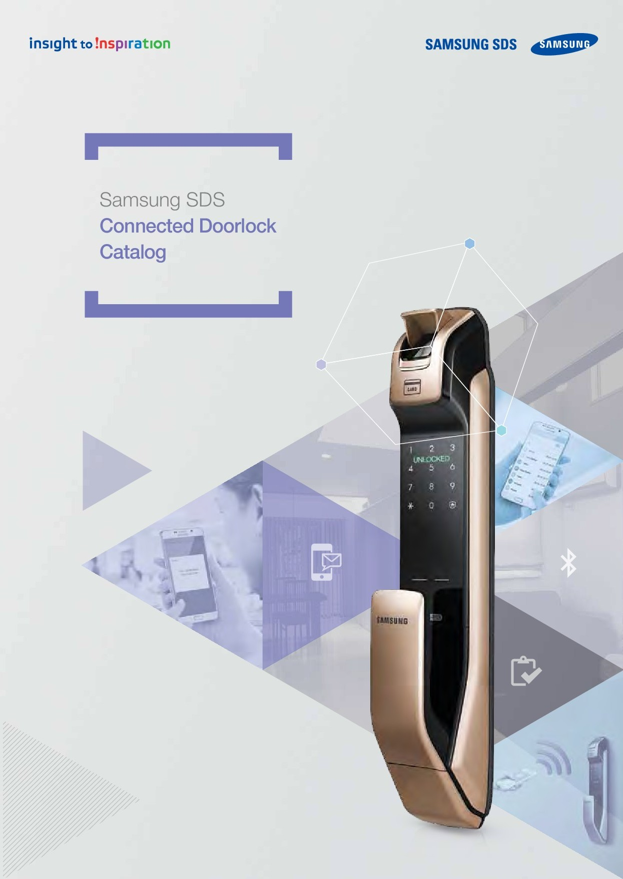 Samsung Digital Door Locks and Video Door Phone Products Catalogue
