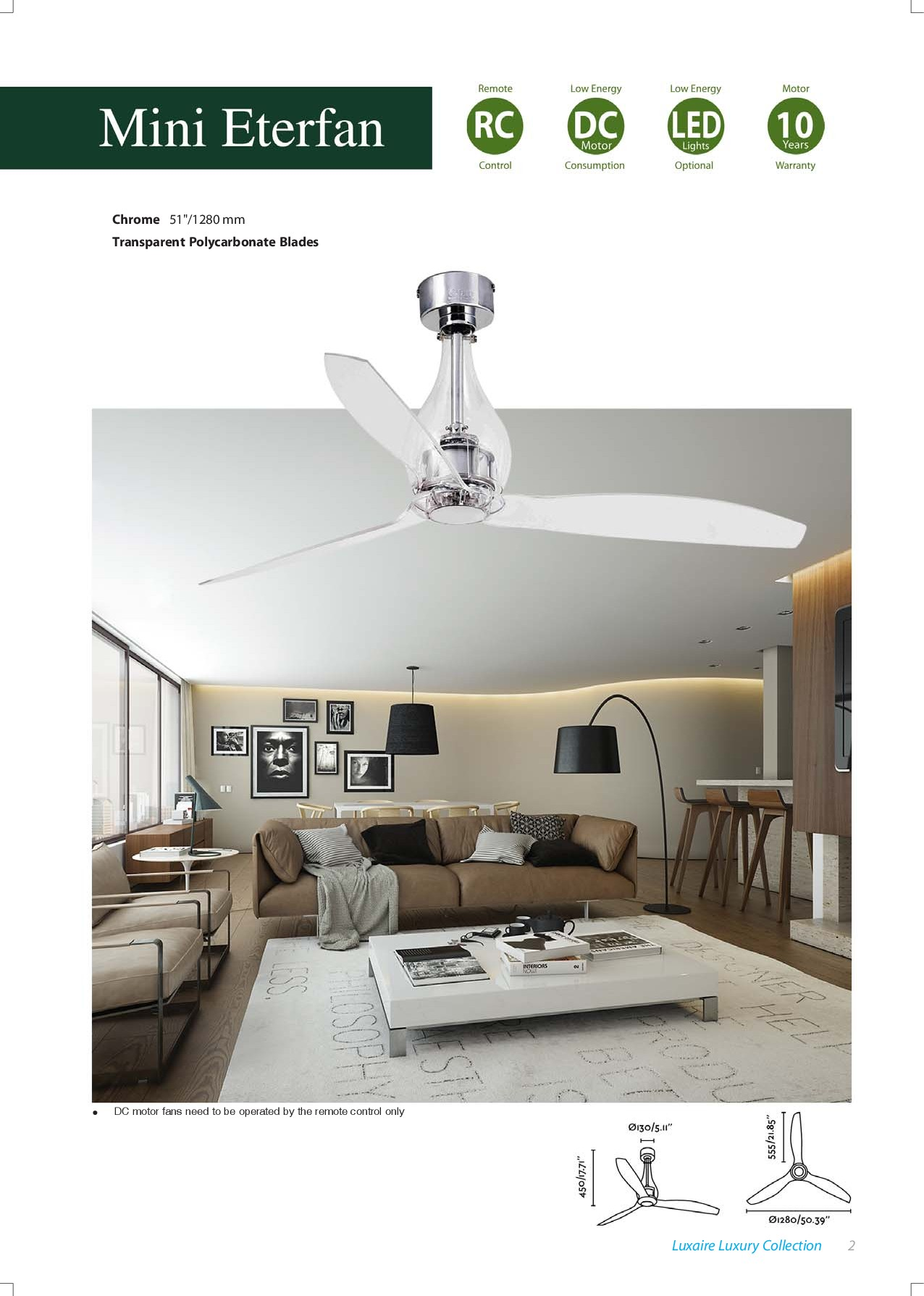 LUXAIRE Products Catalogue