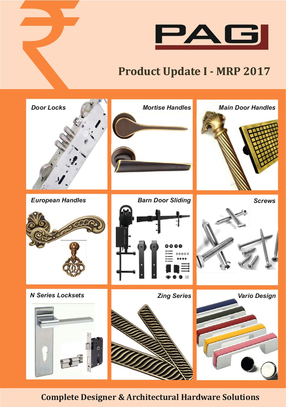PAG Products Catalogue