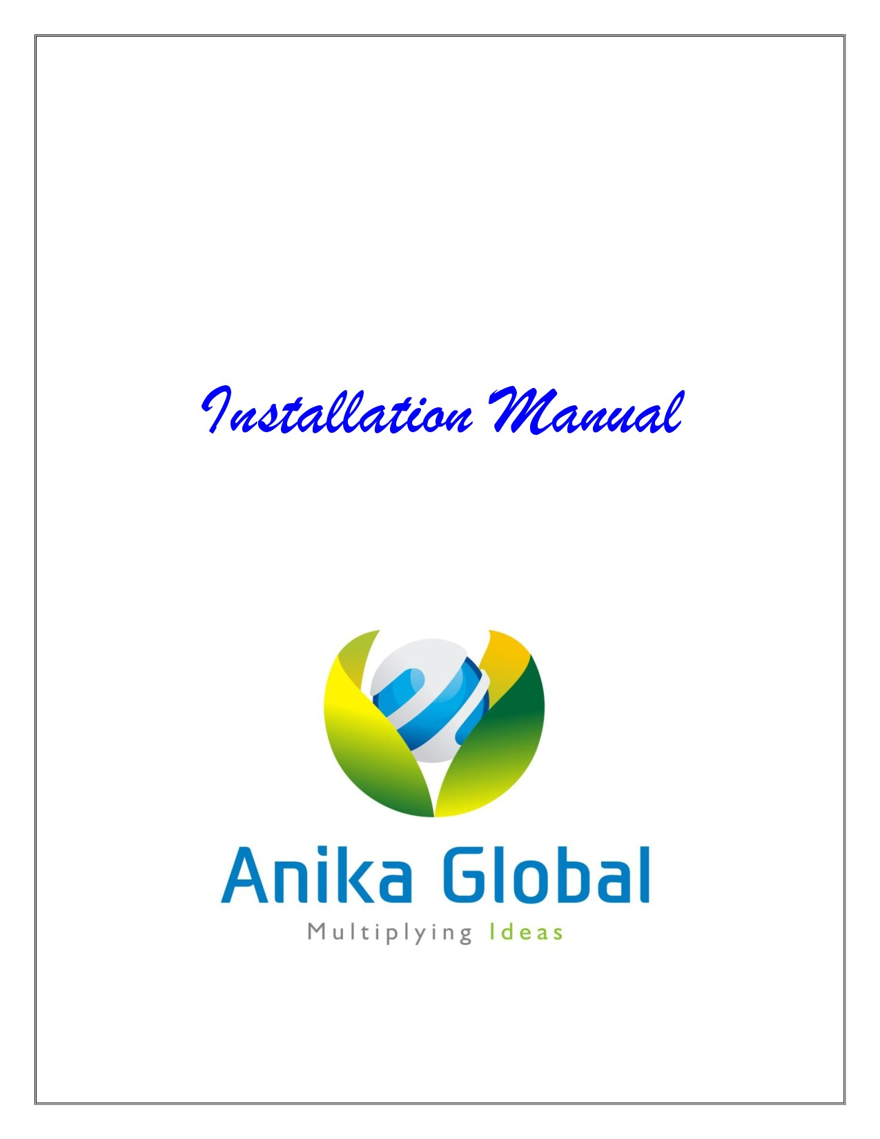 Anika Global Products Catalogue