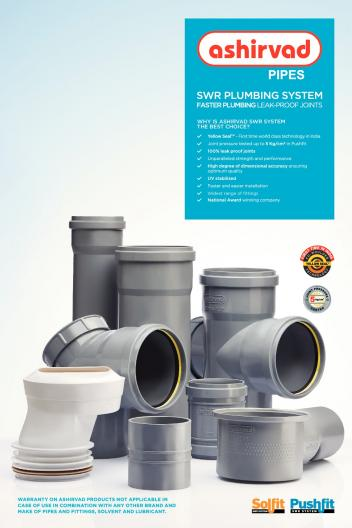 Ashirvad Pipes - CPVC and UPVC Pipe Product Catalogues